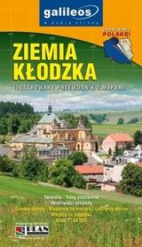 ZIEMIA KŁODZKA ilustrowany przewodnik z mapami wyd. PLAN 2016