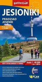 JESIONIKI Pradziad Jesenik mapa turystyczna 1:40 000 PLAN