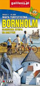 BORNHOLM mapa turystyczna 1:45 000 STUDIO PLAN