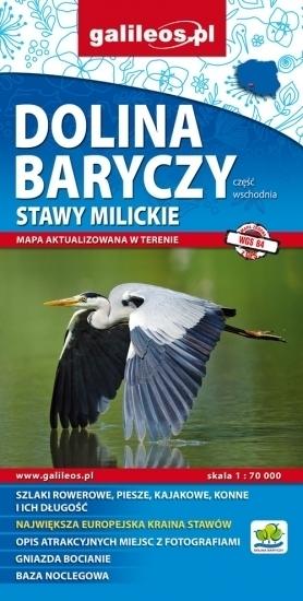 DOLINA BARYCZY cz. wschodnia 1:70 000 mapa turystyczna PLAN