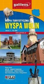 WYSPA WOLIN mapa turystyczna 1:45 000 wyd. PLAN