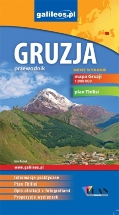 GRUZJA przewodnik turystyczny PLAN 2013