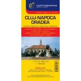 CLUJ - NAPOCA 1:15 000 plan miasta CARTOGRAPHIA