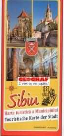 SYBIN SIBIU plan miasta 1:12 500 wyd. Constant Rumunia