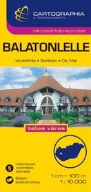 Balatonlelle plan miasta 1:10 000 CARTOGRAPHIA