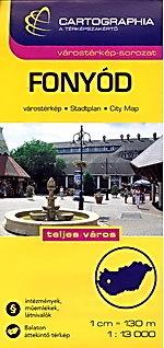 FONYOD plan miasta 1:13 000 CARTOGRAPHIA