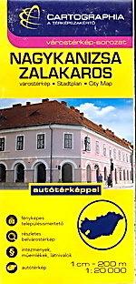 Nagykanisza / Zalakaros plan miasta 1:17 000 / 12 500 CARTOGRAPHIA