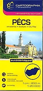 PECS plan miasta 1:20 000 CARTOGRAPHIA