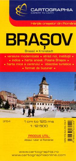 BRASOV plan miasta 1:12 500 CARTOGRAPHIA