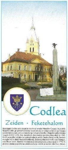 CODLEA ZEIDEN FAKETEHALOM plan miasta (Rumunia)