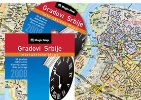 PLANY MIAST SERBII - NA CD 2008 Gradovi Srbije 2008
