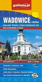 WADOWICE I OKOLICE mapa turystyczna 1:40 000 wyd. PLAN