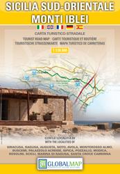 SYCYLIA POŁUDNIOWO WSCHODNIA - MONTE IBELI mapa turystyczna 1:25 000 LAC