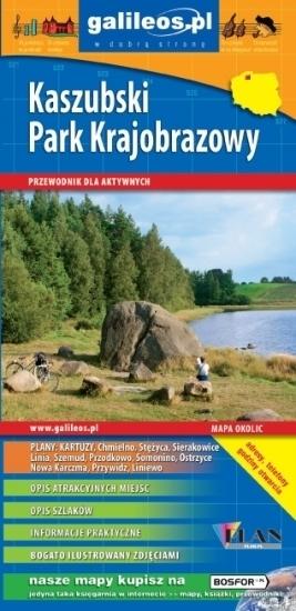 Kaszubski Park Krajobrazowy przewodnik PLAN