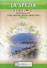 LA SPEZIA plan miasta 1:10 000 LAC WŁOCHY