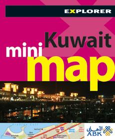 KUWEJT Kuwait Mini Map Explorer Explorer Publishing
