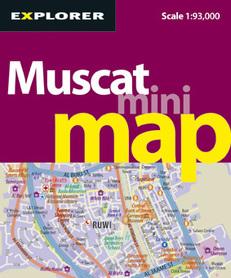 MUSCAT Mini Map 1:100 000 / 1:50 000 Explorer Publishing