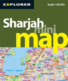 Sharjah Mini Map Explorer Explorer Publishing