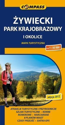 ŻYWIECKI PARK KARJOBRAZOWY I OKOLICE 1:50 000 COMPASS 2012