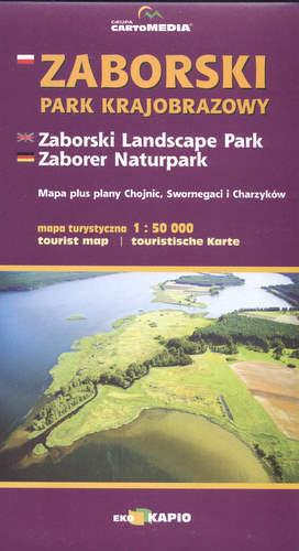 ZABORSKI PARK KRAJOBRAZOWY mapa turystyczna 1:50 000 CARTOMEDIA