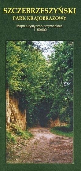 SZCZEBRZESZYŃSKI PARK KRAJOBRAZOWY mapa turystyczno - -przyrodnicza 1:50 000 CARTOMEDIA KARTPOL