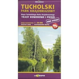 TUCHOLSKI PARK KRAJOBRAZOWY mapa turystyczna 1:50 000 CARTOMEDIA