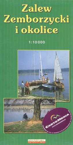 ZALEW ZEMBORZYCKI I OKOLICE mapa 1:10 000 KARTPOL / CARTOMEDIA