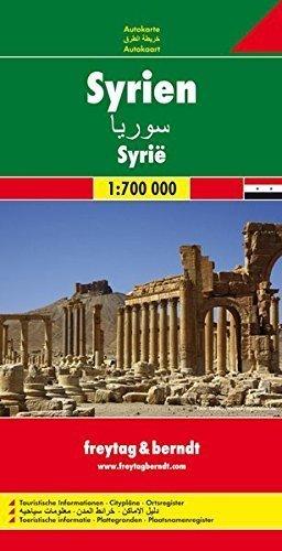 SYRIA mapa samochodowa 1:700 000 FREYTAG & BERNDT