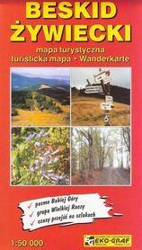 BESKID ŻYWIECKI mapa turystyczna 1:50 000 EKO-GRAF