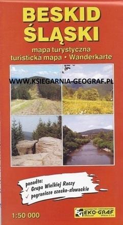 BESKID ŚLĄSKI mapa turystyczna 1:50 000 EKO-GRAF