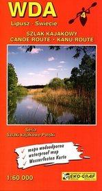 WDA Szlak Kajakowy mapa wodoodporna 1:60 000 EKOGRAF