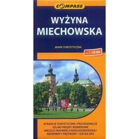 WYŻYNA MIECHOWSKA mapa turystyczna 1:60 000 COMPASS