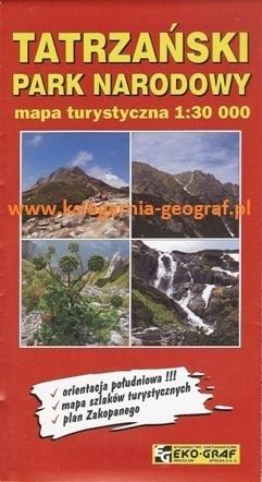 TATRZAŃSKI PARK NARODOWY mapa turystyczna 1:30 000 EKO-GRAF