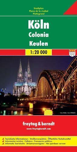 KOLONIA plan miasta 1:20 000 FREYTAG & BERNDT