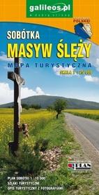 MASYW ŚLĘŻY SOBÓTKA mapa turystyczna 1:25 000 PLAN