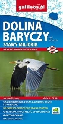 DOLINA BARYCZY cz. wschodnia 1:70 000 mapa turystyczna wodoodporna PLAN