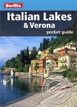 ITALIAN LAKES & VERONA pocket guide przewodnik BERLITZ