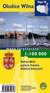 OKOLICE WILNA mapa turystyczna 1:100 000 wersja papierowa TD