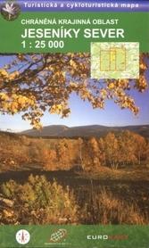 JESENIKY SEVER północ mapa turystyczna 1:25 000 Geodezie On Line