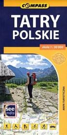 TATRY POLSKIE mapa turystyczna 1:30 000 COMPASS
