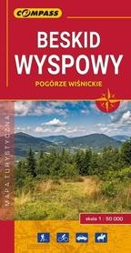 BESKID WYSPOWY mapa turystyczna 1:50 000 COMPASS 2018