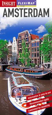 AMSTERDAM plan miasta laminowany 1:12 500 INSIGHT 2012