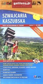 SZWAJCARIA KASZUBSKA mapa turystyczna 1:50 000 PLAN