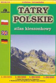 TATRY POLSKIE atlas kieszonkowy 1:30 000 SYGNATURA