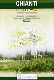CHIANTI mapa turystyczna 1:50 000 LAC