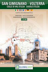 SAN GIMIGNANO VOLTERRA mapa turystyczna 1:25 000 LAC