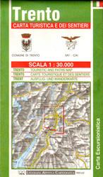 TRENTO I OKOLICE mapa turystyczna 1:30 000 LAC