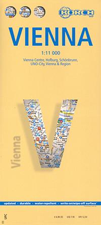 WIEDEŃ plan miasta laminowany 1:11 000 BORCH
