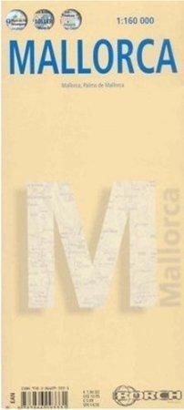 MAJORKA mapa samochodowa laminowana 1:160 000 BORCH