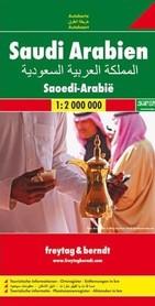 ARABIA SAUDYJSKA mapa samochodowa 1:2 000 000 FREYTAG & BERNDT